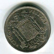 Monedas Franco: ESTADO ESPAÑOL 5 (CINCO) PESETAS 1949 *50. Lote 210708027