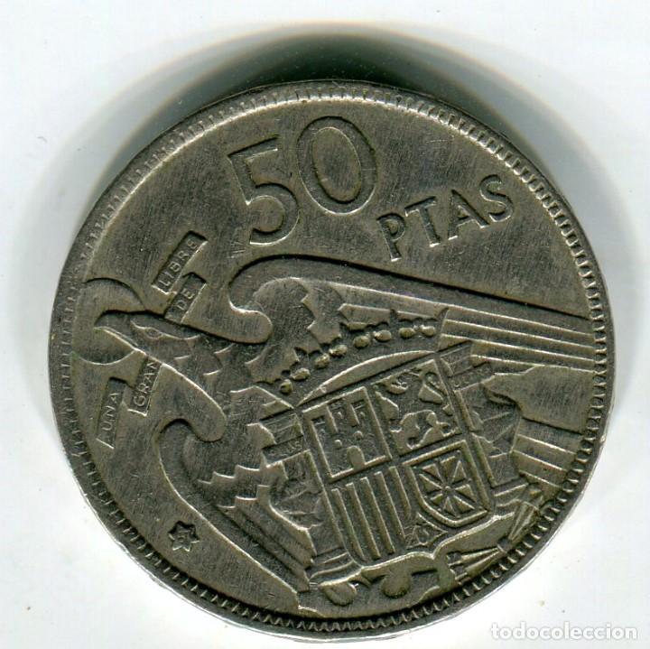 ESTADO ESPAÑOL 50 (CINCUENTA) PESETAS AÑO 1957 *67 (Numismática - España Modernas y Contemporáneas - Estado Español)