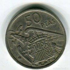 Monedas Franco: ESTADO ESPAÑOL 50 (CINCUENTA) PESETAS AÑO 1957 *67. Lote 210708136