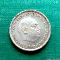 Monedas Franco: ESTADO ESPAÑOL . 25 PESETAS DE 1957 . ESTRELLA 69 , BC-. Lote 210774929