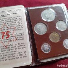 Monedas Franco: CARTERA DEL AÑO 1975. ESTADO ESPAÑOL. FRANCISCO FRANCO. Lote 210775591