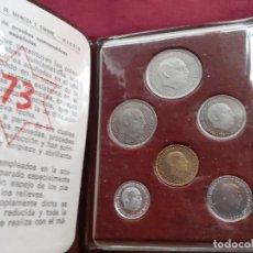 Monedas Franco: CARTERA DEL AÑO 1973. ESTADO ESPAÑOL. FRANCISCO FRANCO. Lote 210775815