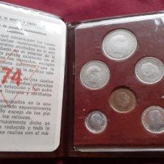 Monedas Franco: CARTERA DEL AÑO 1974. ESTADO ESPAÑOL. FRANCISCO FRANCO. Lote 210775884