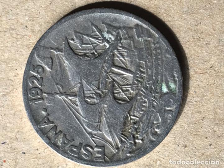 Monedas Franco: Cuatro monedas 25 céntimos 1925,1927,1934 y 1937 - Foto 5 - 210759586