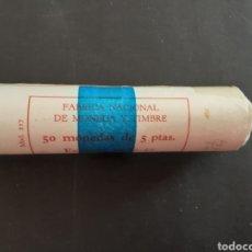 Monedas Franco: CARTUCHO 5 PESETAS 1957 ESTRELLA 71 ESTADO ESPAÑOL ESPAÑA S/C ORIGINAL FNMT. Lote 211486076