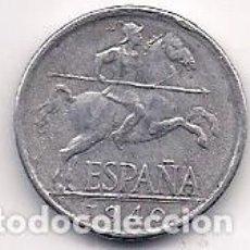 Monete Franco: ESPAÑA - MONEDA DE 5 CENTIMOS DE ALUMINIO DEL AÑO 1940 MUY BONITA. Lote 212402990