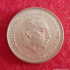 Monedas Franco: MONEDA 2,50 PESETAS FRANCO 1953 ESTRELLAS VISIBLES 19 71 SC ORIGINAL EEJ. Lote 212471478