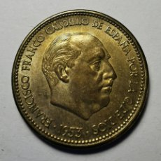 Monnaies Franco: MONEDA ESPAÑA ... ESTADO ESPAÑOL ... 2,50 PSETAS 1953 *54. Lote 213087643