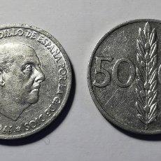 Monnaies Franco: MONEDA ESPAÑA ... ESTADO ESPAÑOL ... 50 CENTIMOS 1966 *68. Lote 213259261