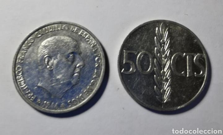 MONEDA ESPAÑA ... ESTADO ESPAÑOL ... 50 CENTIMOS 1966 *71 (Numismática - España Modernas y Contemporáneas - Estado Español)