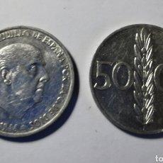 Monedas Franco: MONEDA ESPAÑA ... ESTADO ESPAÑOL ... 50 CENTIMOS 1966 *71. Lote 213260067