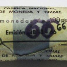 Monedas Franco: CARTUCHO OFICIAL DE LA F.N.M.T. CON 25 MONEDAS DE 100 PTS DE 1966* 19-66 PLATA. LOTE 3345. Lote 213558901
