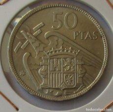 Monedas Franco: MONEDA DE 50 PESETAS. 1957 *67.. Lote 213756657