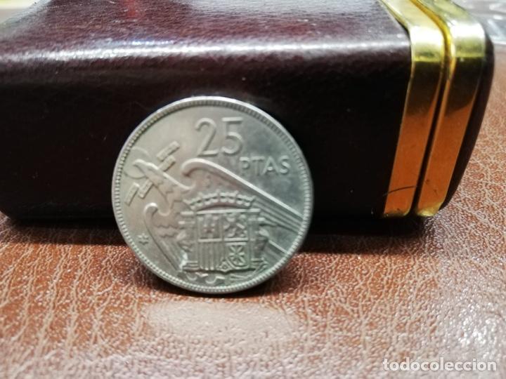 Monedas Franco: 9 monedas pesetas españolas del estado español de Franco 1937 a 1966 - Foto 4 - 214851083