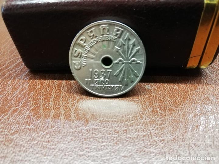 Monedas Franco: 9 monedas pesetas españolas del estado español de Franco 1937 a 1966 - Foto 6 - 214851083