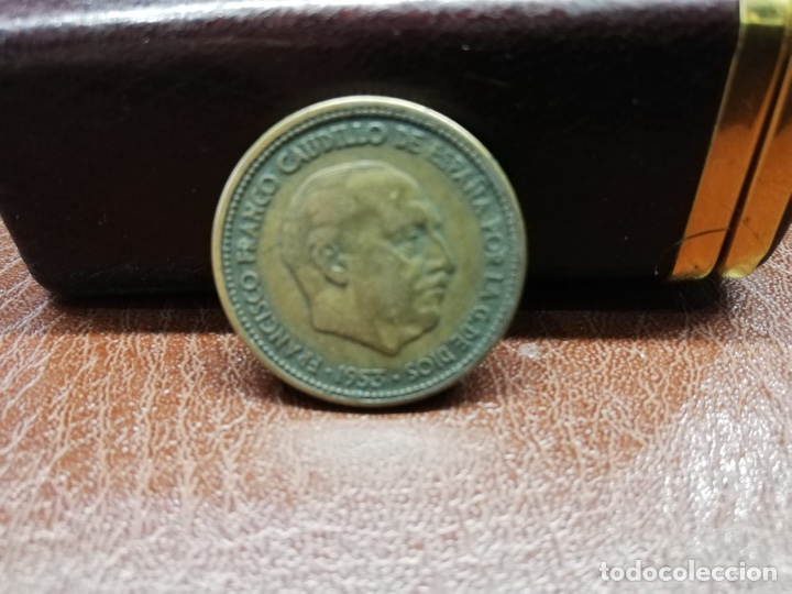 Monedas Franco: 9 monedas pesetas españolas del estado español de Franco 1937 a 1966 - Foto 9 - 214851083