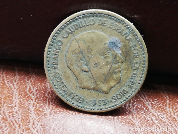 Monedas Franco: 9 monedas pesetas españolas del estado español de Franco 1937 a 1966 - Foto 15 - 214851083