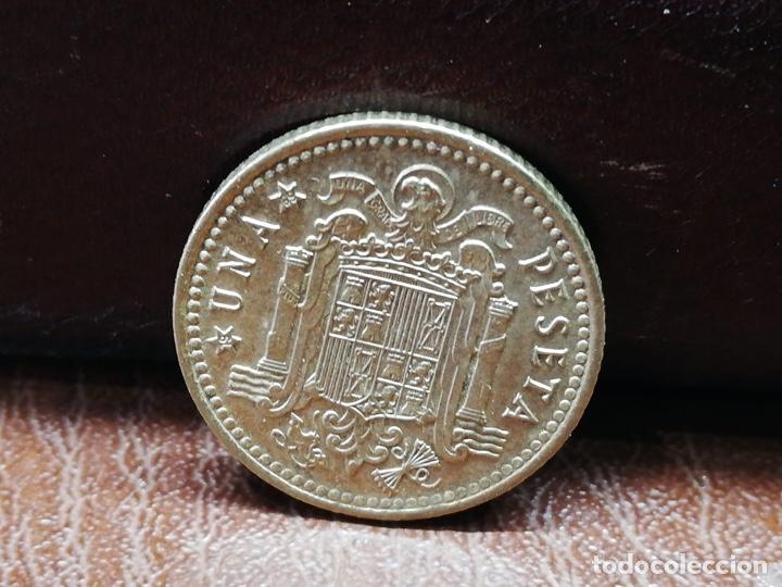 Monedas Franco: 9 monedas pesetas españolas del estado español de Franco 1937 a 1966 - Foto 18 - 214851083