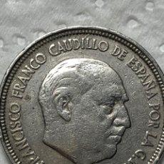 Monedas Franco: EXCELENTE DURO DE FRANCO DEL 1957 , ESTRELLA DEL 59. Lote 215303087