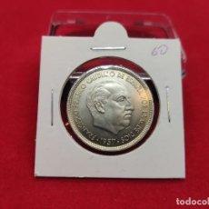 Monedas Franco: 50 PESETAS FRANCO 1957 *60 SIN CIRCULAR EXTRAÍDA DE CARTUCHO. Lote 289803253