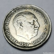 Monnaies Franco: MONEDA ESPAÑA ... ESTADO ESPAÑOL ... 25 PESETAS 1957 *59 .. VER FOTOS ADICIONALES. Lote 215550528