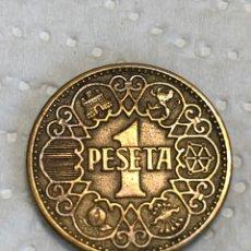 Monedas Franco: PESETA DE 1944 , LA DEL 1. Lote 215557645