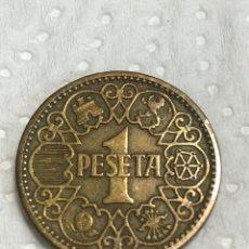 Monedas Franco: OCASIÓN PESETA DE 1944 EN BUENAS CONDICIONES. Lote 215588090