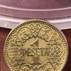 Monedas Franco: MUY BONITA PESETA DE 1944. Lote 215730565