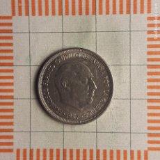 Moedas Franco: ESTADO ESPAÑOL, 5 PESETAS 1957 *70. Lote 216500878