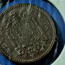 Monedas Franco: ESTADO ESPAÑOL UNA PESETA 1947 ESTRELLAS 19-51 EBC+. Lote 216516663