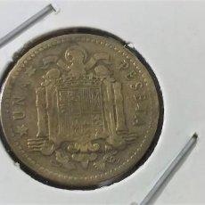 Monedas Franco: ESTADO ESPAÑOL UNA PESETA 1953 ESTRELLAS 19-60 EBC. Lote 216517267