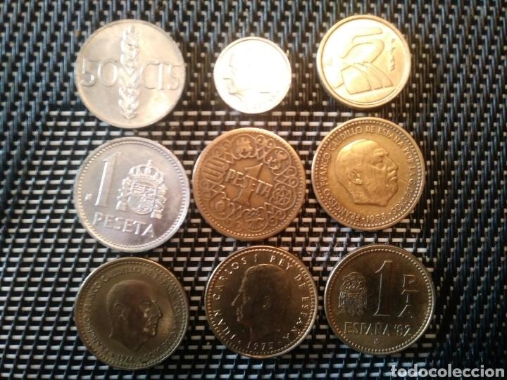 LOTE MONEDAS ESPAÑA (Numismática - España Modernas y Contemporáneas - Estado Español)