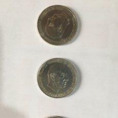 Monedas Franco: MONEDAS 100 PESETAS PLATA 1966. LAS DE LA FOTO O SIMILAR.. Lote 218070558
