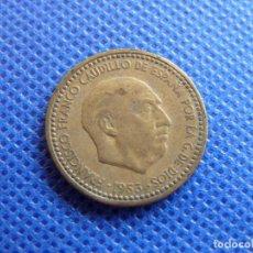 Monedas Franco: ESPAÑA 1 MONEDA DE 1 PESETA FRANCO 1953 *54 ESTRELLAS VISIBLES. Lote 218491527