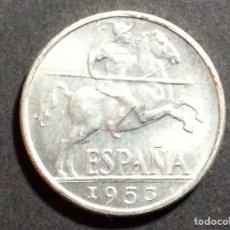 Monedas Franco: MONEDA DE 10 CÉNTIMOS.1953.JINETE IBERO.SIN CIRCULAR.. Lote 218649255
