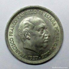 Monedas Franco: 1ª EXPOSICION IBEROAMERICANA DE NUMISMATICA Y MEDALLISTICA (BA) MONEDA DE 50 PESETAS. LOTE 3426. Lote 218664613