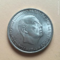 Monete Franco: MONEDA PLATA ESPAÑA 1966 *68 FRANCO - 100 PESETAS S/C. Lote 212942428