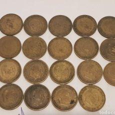 Monedas Franco: LOTE DE MONEDAS DE 1 PESETA DE FRANCO 1963 CON Y SIN ESTRELLAS VISIBLES. Lote 218894238