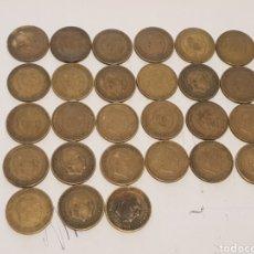 Monedas Franco: LOTE DE MONEDAS DE 1 PESETA DE FRANCO 1953 CON Y SIN ESTRELLAS VISIBLES. Lote 218894412