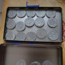 Monedas Franco: 18 MONEDAS 10 CENTIMOS DE PESETA FRANCO 1959. Lote 218896993