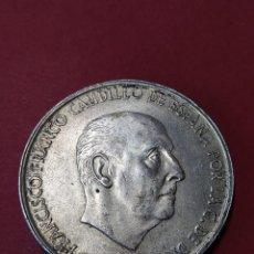 Monnaies Franco: MONEDA DE PLATA 100 PESETAS - FRANCO, AÑO 1966, ESTRELLAS VISIBLES 19 * 67... L2099. Lote 220363037