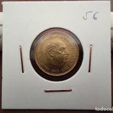 Monedas Franco: 1 PESETA FRANCO 1953 *56 SIN CIRCULAR EXTRAÍDA DE CARTUCHO. Lote 220487633