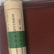 Monedas Franco: CARTUCHO 50 CENTIMOS 1963 ESTRELLA 64. Lote 220506795