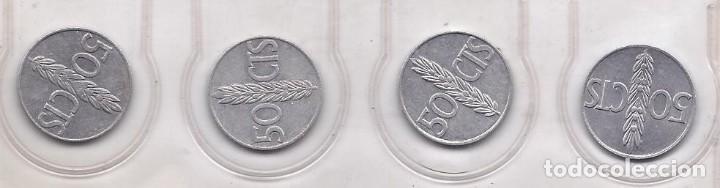 LOTE 3 MONEDAS DE 50 CTS 1949 CIRCULADAS (Numismática - España Modernas y Contemporáneas - Estado Español)