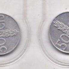 Monedas Franco: LOTE 3 MONEDAS DE 50 CTS 1949 CIRCULADAS. Lote 220610108