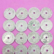 Monedas Franco: LOTW 20.MONEDAS DE 25 CÉNTIMOS AÑO 1937 ,ESTADO ESPAÑOL. Lote 221601512