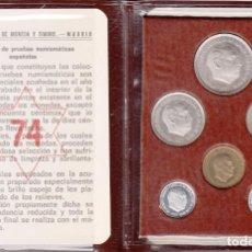 Monedas Franco: FRANCO: CARTERA MONEDAS 1974 - FDC. Lote 40721618