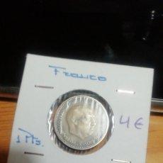 Monedas Franco: UNA PESETA DE 1953 ESTRELLA 56. Lote 221836920