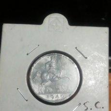 Monedas Franco: 10 CÉNTIMOS DE PESETAS DE FRANCO 1940 SIN CIRCULAR. Lote 221837900