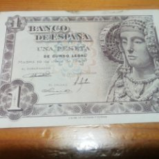 Monedas Franco: BILLETE DE UNA PESETA DE 1948 IMPECABLE. Lote 221843073